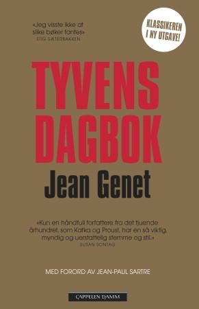 """""""Tyvens dagbok"""" av Jean Genet"""