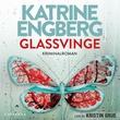 """Glassvinge kriminalroman"" av Katrine Engberg"