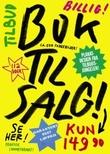 """""""Bok til salg! plakatdesign fra tilbudsjungelen"""" av Dimitri Kayiambakis"""