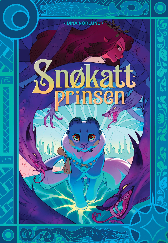 """""""Snøkattprinsen"""" av Dina Norlund"""
