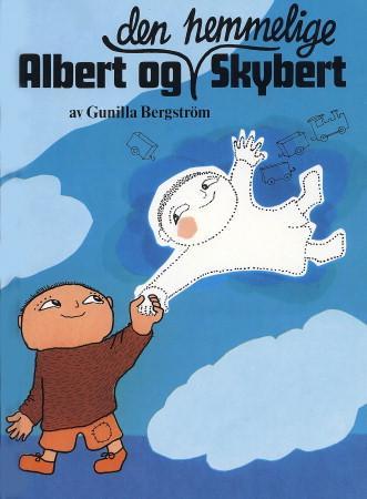 """""""Albert og den hemmelige Skybert"""" av Gunilla Bergström"""