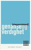 """""""Genanse og verdighet roman"""" av Dag Solstad"""