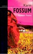 """""""Elskede Poona - kriminalroman"""" av Karin Fossum"""