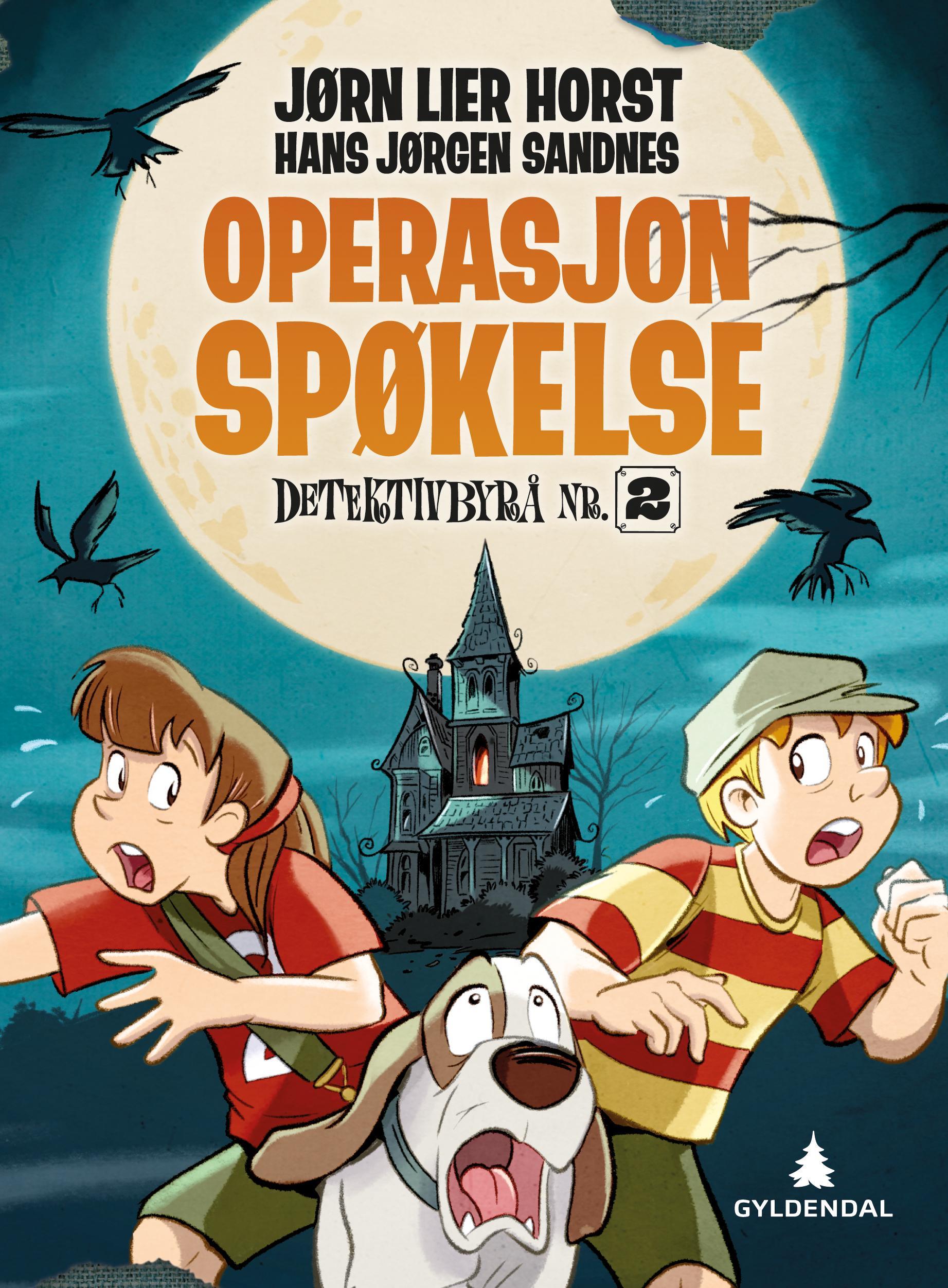 """""""Operasjon Spøkelse"""" av Jørn Lier Horst"""
