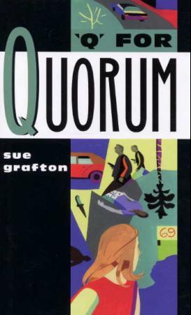 """Q for Quorum"" av Sue Grafton"