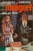 """""""Maigret gjør en tabbe"""" av Georges Simenon"""