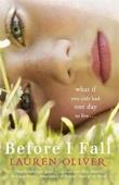 """""""Before l fall"""" av Lauren Oliver"""