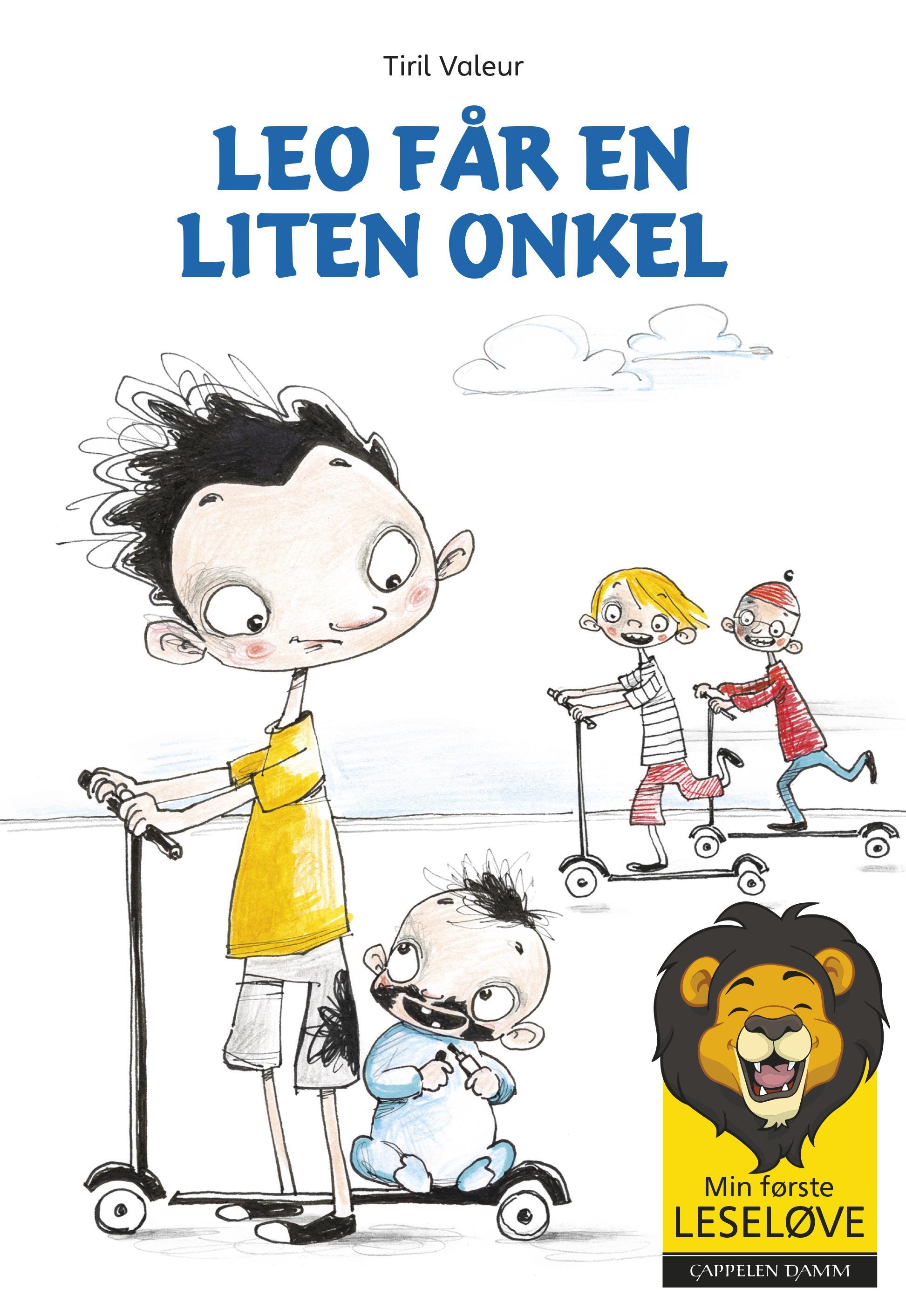 """""""Leo får en liten onkel"""" av Tiril Valeur"""