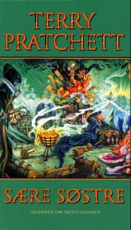 """""""Sære søstre - legenden om Skiveverdenen"""" av Terry Pratchett"""