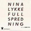 """""""Full spredning en legeroman"""" av Nina Lykke"""