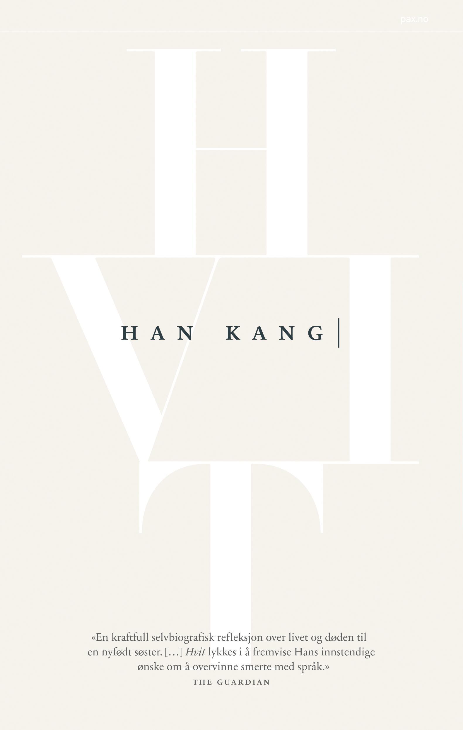 """""""Hvit"""" av Kang Han"""