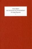 """""""Om diktning på folkespråket - de vulgari eloquentia"""" av Dante Alighieri"""