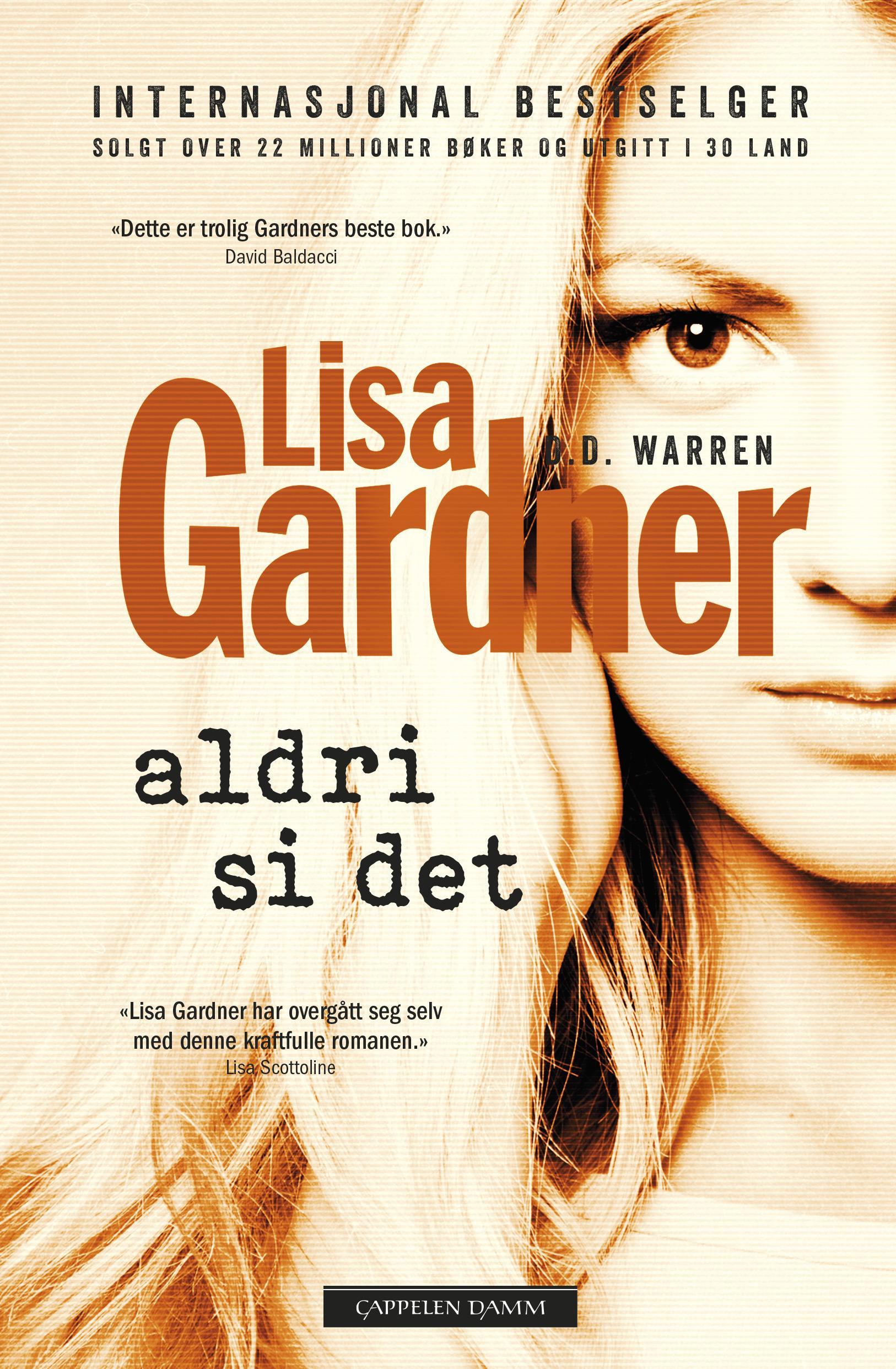 """""""Aldri si det"""" av Lisa Gardner"""