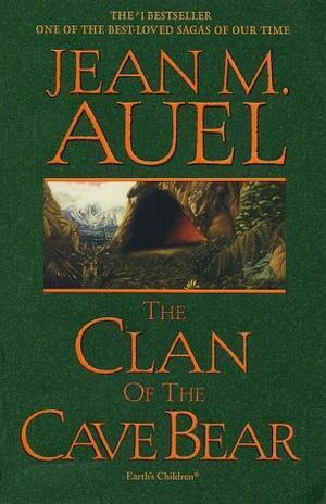 """""""The Clan of the Cave Bear"""" av Jean M. Auel"""