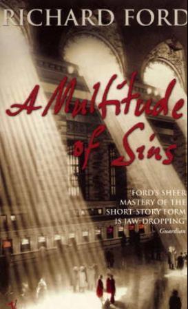"""""""A multitude of sins - stories"""" av Richard Ford"""