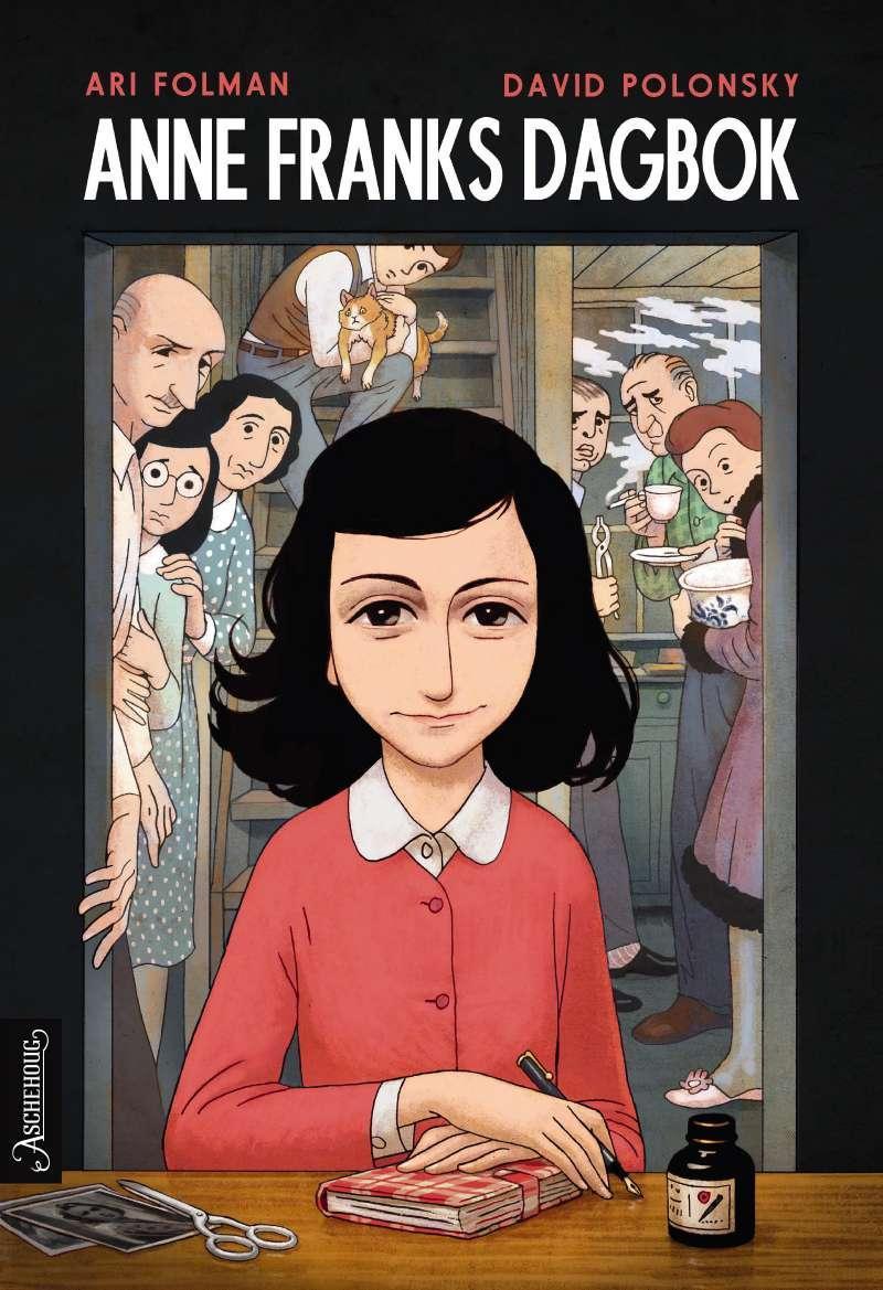 """""""Anne Franks dagbok - grafisk roman"""" av Ari Folman"""