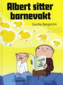 """Albert Åberg sitter barnevakt"" av Gunilla Bergström"