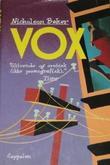 """""""Vox"""" av Nicholson Baker"""