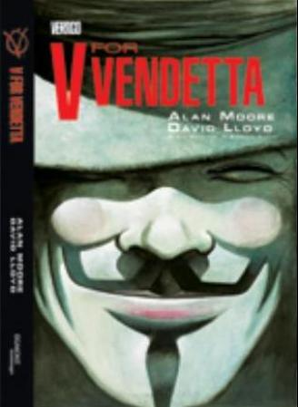 """V for vendetta"" av Alan Moore"