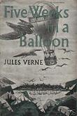 """""""Fem uker i ballong"""" av Jules Verne"""