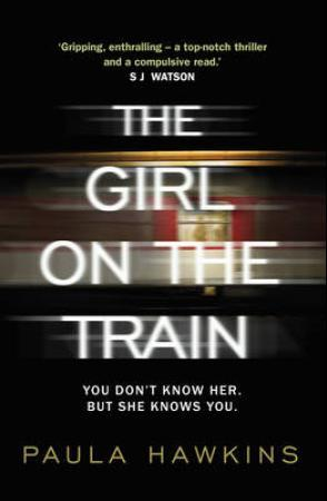 """The girl on the train"" av Paula Hawkins"