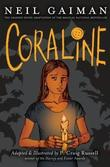 """Coraline - graphic novel"" av Neil Gaiman"