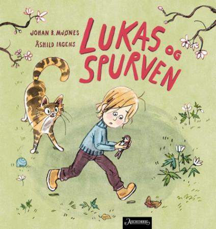 """""""Lukas og spurven"""" av Johan B. Mjønes"""