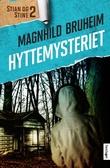 """""""Hyttemysteriet roman"""" av Magnhild Bruheim"""
