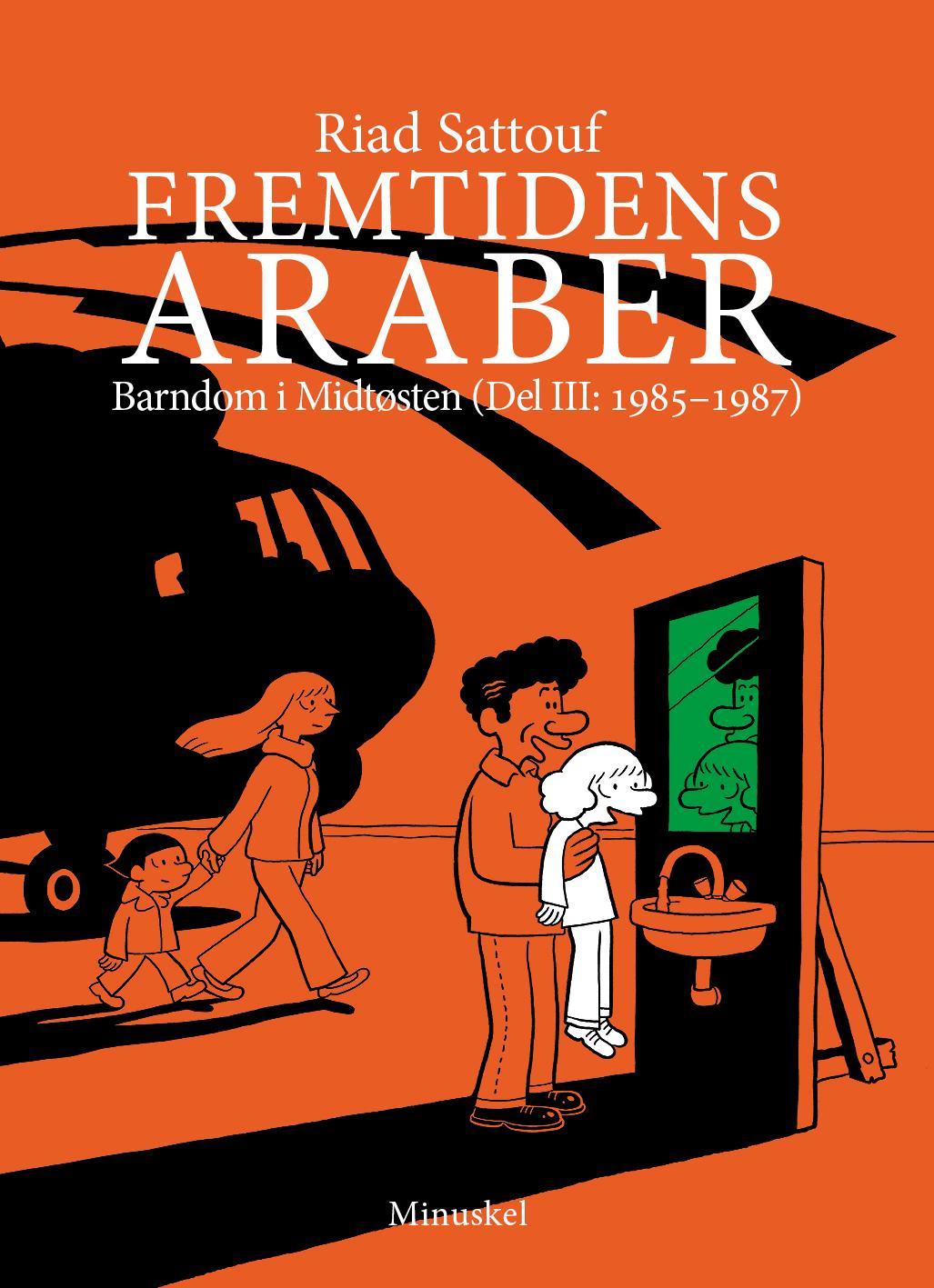 """""""Fremtidens araber - barndom i Midtøsten"""" av Riad Sattouf"""