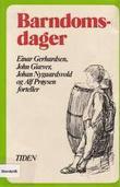 """""""Barndomsdager"""" av Einar Gerhardsen"""