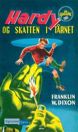 """""""Hardy-guttene og skatten i tårnet"""" av Franklin W. Dixon"""