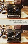 """""""Herlige nederlag - artikler og intervjuer om litteratur og film"""" av Nikolaj Frobenius"""