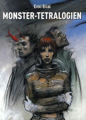 """""""Monster-tetralogien"""" av Enki Bilal"""