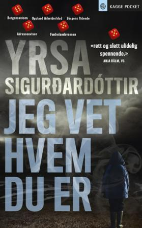 """""""Jeg vet hvem du er"""" av Yrsa Sigurdardóttir"""