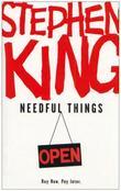 """""""Needful Things - open"""" av Stephen King"""