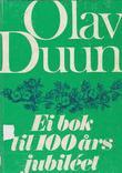 """Duun, Olav - ei"" av Olav Dalgard"