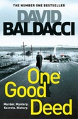 """One good deed"" av David Baldacci"