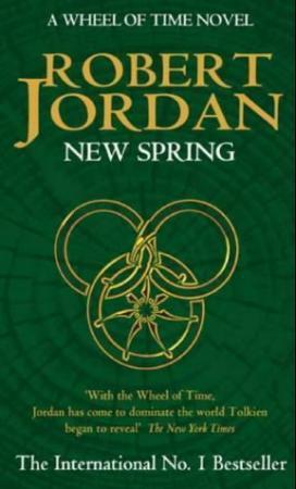 """""""New spring - a Wheel of time novel"""" av Robert Jordan"""