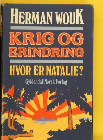 """""""Hvor er Natalie? - Krig og erindring 1"""" av Herman Wouk"""