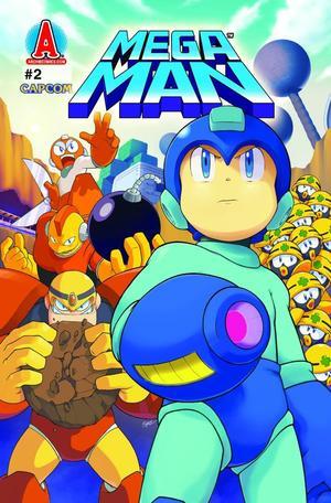 """Mega Man #2 - Let the Games Begin Part Two: Weapons Get!"" av Pat Spaziante"