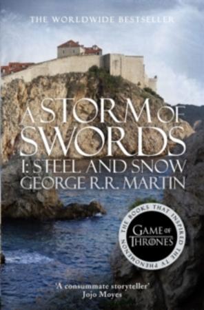 """A storm of swords - steel and snow"" av George R.R. Martin"