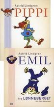 """""""Pippi Langstrømpe ; Emil fra Lønneberget"""" av Astrid Lindgren"""