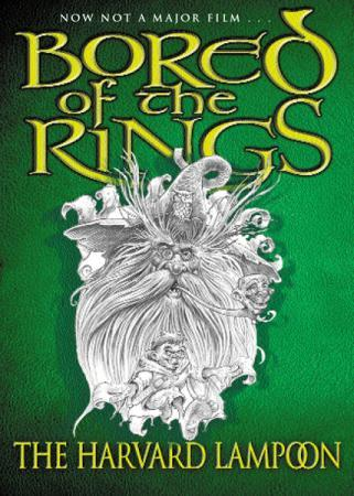"""Bored of the rings - a parody of J.R.R. Tolkien's The Lord of the rings"" av Henry N. Beard"