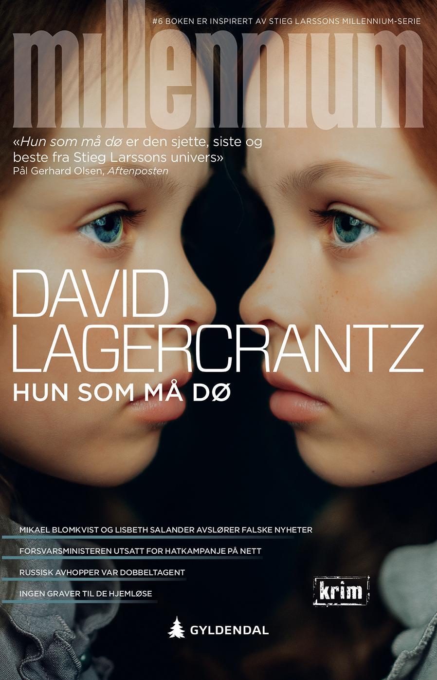 """""""Hun som må dø"""" av David Lagercrantz"""
