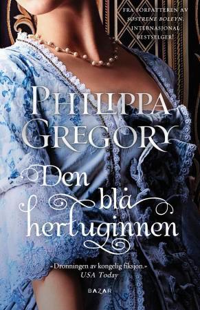 """""""Den blå hertuginnen"""" av Philippa Gregory"""