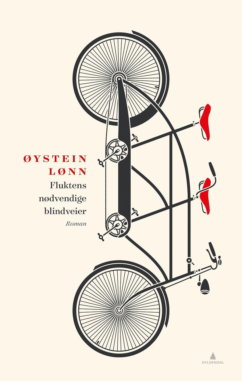 """""""Fluktens nødvendige blindveier - roman"""" av Øystein Lønn"""