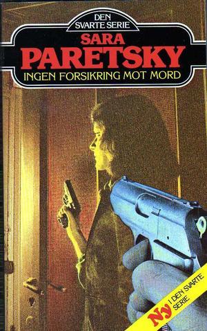"""""""Ingen forsikring mot mord"""" av Sara Paretsky"""