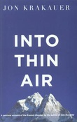 """Into thin air - a personal account of the Everest disaster"" av Jon Krakauer"