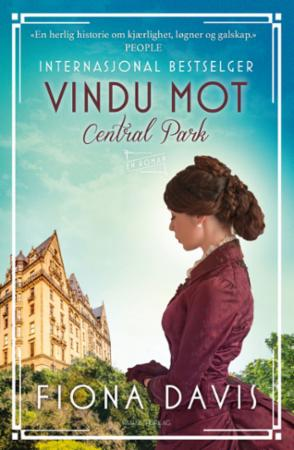 """""""Vindu mot Central Park - en roman"""" av Fiona Davis"""