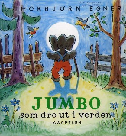 """""""Jumbo som dro ut i verden"""" av Thorbjørn Egner"""